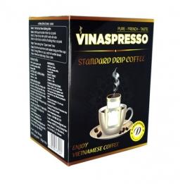 Cà Phê Phin Lọc Standard Vinaspresso 10 gói
